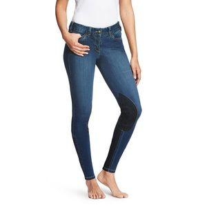 ARIAT Reg Wash Denin Knee Pad Breech Jeans 32L